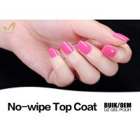 Environmental Friendly UV Top Coat Nail Polish No Yellowish OEM & ODM Availabe Manufactures