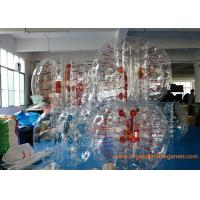 China Skill Printing Inflatable bumper balls for adults / Entertainment inflatable body bumpers on sale