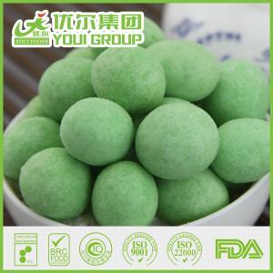 China Wasabi Coated Wholesale Peanuts, Wasabi Peanuts Snack Food on sale