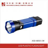 LED High Quality Plastic Rechargeable Torch Light Manufactures