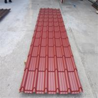 Quality Customized Color Glaze Tile Metal Roof Roll Forming Machine PLC Control for sale