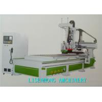 China Four Axis CNC Wood Cutting Machine , Wood Etching Machine For Craftsmanship Window on sale