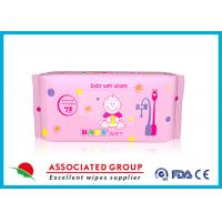 Multi Pack Baby Wet Wipes For Face , Reusable Wet Wipe Tissues Manufactures