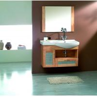 Buy cheap Cheap small size PVC/MDF/solid wood hanging/floating/wall-mounted bathroom vanity/bathroom cabinet from wholesalers