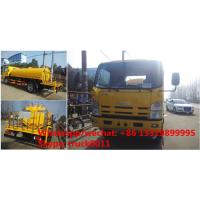Quality factory direct sale ISUZU 700P 4*2 LHD/RHD water sraying truck, best price ISUZU 6-8m3 water carrier tank truck for sale for sale