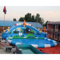 Quality Most popular inflatable water park/inflatable aqua park/inflatable aqua playground with free accessory for sale