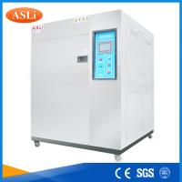 Quality Three Zone Programmable Cold Thermal Shock Testing Chamber  with touch screen controller for sale