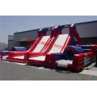 Inflatable Obstacle Course  For Football Manufactures