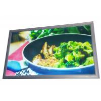 Serving Counters Menu Lightboxes Displaying  for Restaurants and Food Service Manufactures