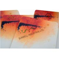 Double Window Custom Packaging Envelopes Multi Colors Autumn Full Printing Manufactures
