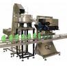 High Pressure Bottle Cap Tightening Machine , OEM Aluminium Cap Sealing Machine Manufactures