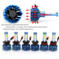 COB Chip Car LED Headlights C2- H4 9004 9007 H13  For Offroad SUV 3200 Lumens Manufactures