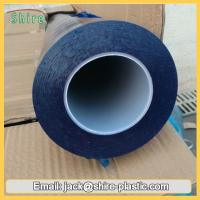 60mic Blue Polyethylene Plastic Film Glass Protection Tape Stable Adhesive Manufactures
