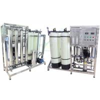 50/60Hz 1000 LPH RO Water Treatment System High Efficiency 1000l Per Hour
