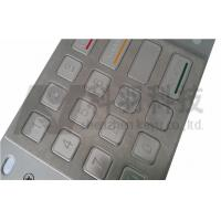 SS Stainless Steel ATM Pin Pad For ATM Cash Machine , ATM Machine Keypad Manufactures