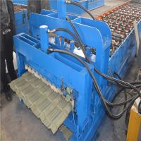 Trustworthy brand CE ISO certification glazed iron roofing sheet making machine