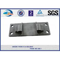 Railway Cast Iron Base Sole Rail road Plates Steel Tie Plate Manufactures
