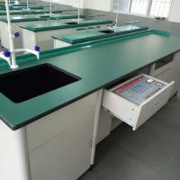 China Aluminium Wood Structure School Lab Furniture Laboratory Workbench Science Lab Bench Biology Laboratory Table on sale