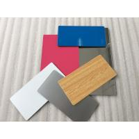 Pearl Blue Aluminium Exterior Composite Panels Easy Processing With Sound Insulation Manufactures