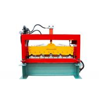 Quality Automatic Metal Roof Forming MachineMaking 840 Width Colored Steel Tiles for sale
