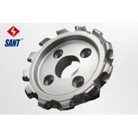 High pricision CNC indexable face milling cutter diameter 200mm with brand inserts Manufactures