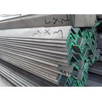 Quality AISI 430 Stainless Steel Angle Iron With Hot Dip Galvanised Surface Treatment for sale