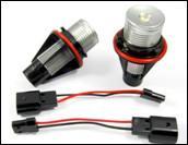 High Luminous 3W / 6W / 5W E39 BMW Angel Eye Bulbs For BMW E39 Cars Manufactures