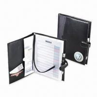 Simulated Leather Book Cover with Magnetic Closure, Measures 10 x 7.5-inch Manufactures