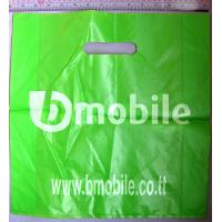 HDPE Plastic Die Cut Handle Bags Manufactures