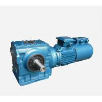 Horizontal Worm Speed Reducer Easy Mounted HBS190 - 240 Housing Hardness Manufactures