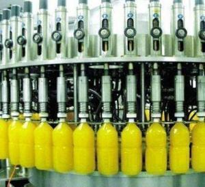 Lemon Juice Filling Machine Automatic / Semi Automatic Fruit Juice Bottling Plant Manufactures