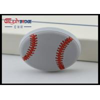 Baseketball Pattern Kids Bedroom Knobs , Rubber Cute Drawer Knobs Ornament Colorful Flower Knobs Manufactures