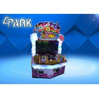 Quality Attack On Monster Redemption Game Machine , Indoor Lottery Ticket Counter for sale
