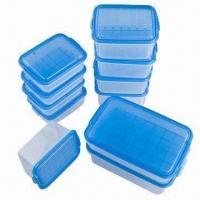 Food Container Set, FDA/EN 71 Certified, Made of PP, Available in Various Sizes and Colors, BPA-free Manufactures
