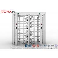 Full Height Turnstile Access Control Turnstile Dual Passage With CE Approved Manufactures