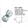 copper shower door knob WL-3002 chrome finished Dia.30x60mm glass door handle Manufactures
