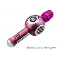 Durable Cordless Karaoke Microphone Bluetooth Handheld With Double Speaker Manufactures
