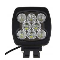 80W SQUARE / COMBO LED Automotive Work Lights 6000K For Offroad Lighting 4 X 4 ATV Manufactures