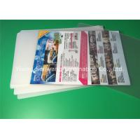 China A4 Laminating Pouches 80 Micron / 100 Micron , PET Laminating Film Pouches on sale