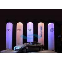 Inflatable LED Light Column / Lighting Inflatable Pillar For Decoration Manufactures