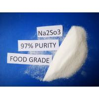 Buy cheap Cas No 7757 83 7 Sodium Sulfite Food Grade Na2SO3 97% Purity For Pharmaceutical from wholesalers