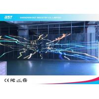 P7.81mm Transparent Led Mesh Curtain , Led Video Wall Display Screen High Resolution Manufactures