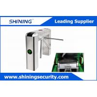 Intelligent Tripod Turnstile Barrier GateWith Voice Prompt And Display Screen Manufactures