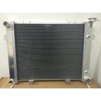 Customized Racing Aluminum Car Radiators , Jeep Grand Cherokee Aluminum Radiator Manufactures