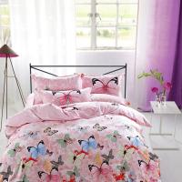 Quality Modern Home Bedroom 4 Piece Bedding Sets 100% Cotton Tancel Material Butterfly for sale