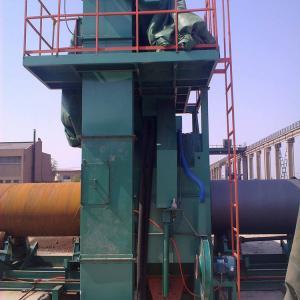 BC 36 Tube Surface 18.5 Kw Steel Pipe Shot Blasting Machine Manufactures