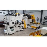 Buy cheap Automatic Decoiler Straightener Feeder with Hydraulic expansion way. from wholesalers