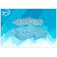 Non woven blue pp disposable surgical shoe cover for Medical use Manufactures