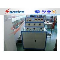 China 220V Manual Control Low Voltage Circuit Breaker Test Set Switchgear Panel Test on sale