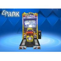 Coin Operated Racing Game Machine Motor Arcade Game For 2 Players Manufactures